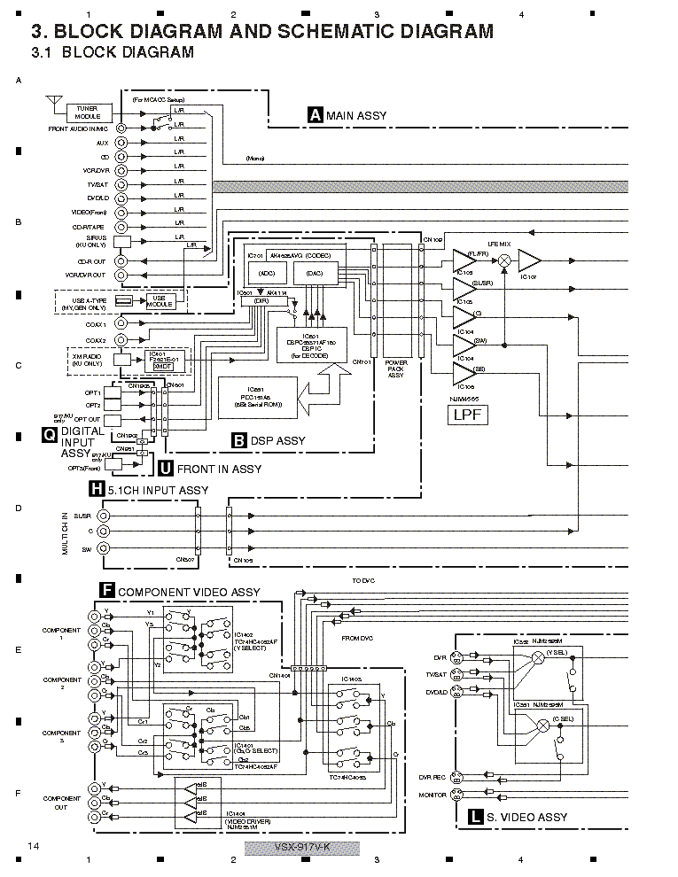 pioneer vsx 917v k sch service manual download schematics eeprom rh elektrotanya com pioneer vsx 917v review pioneer vsx 917v specs