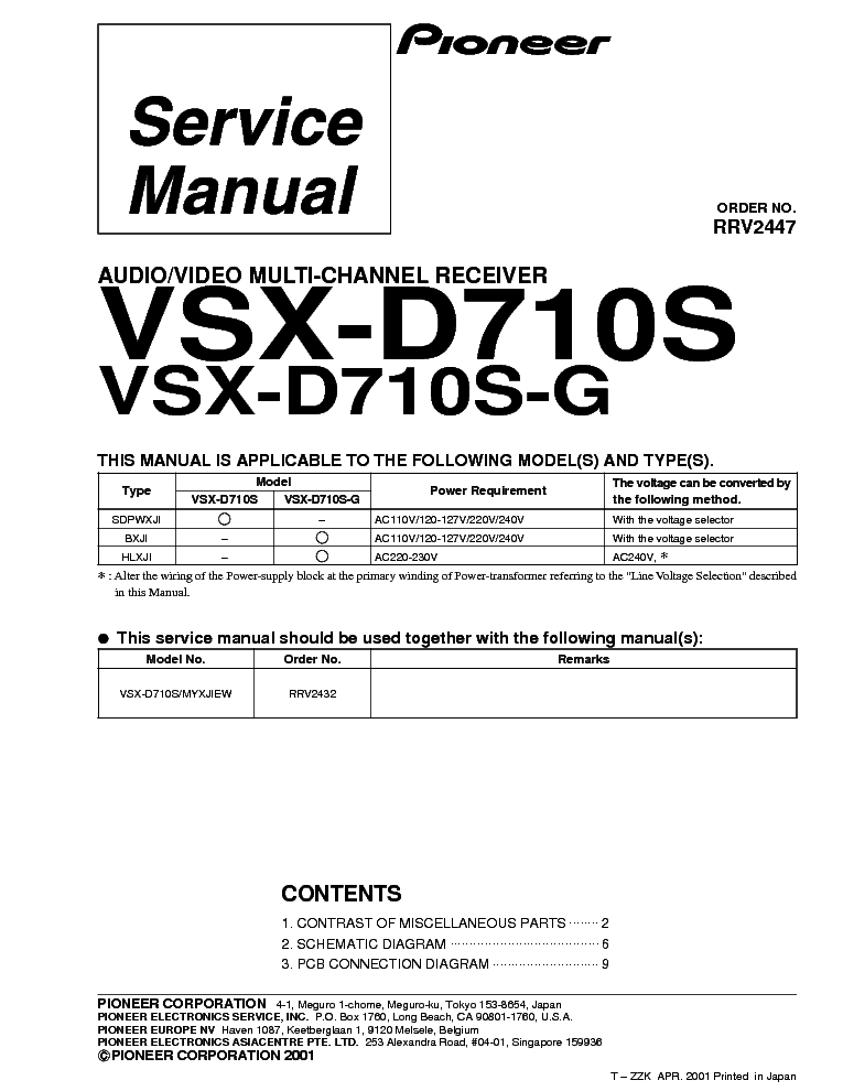 Pioneer vsx d710s rrv2447 sm incomplete service manual download pioneer vsx d710s rrv2447 sm incomplete service manual 1st page fandeluxe Choice Image