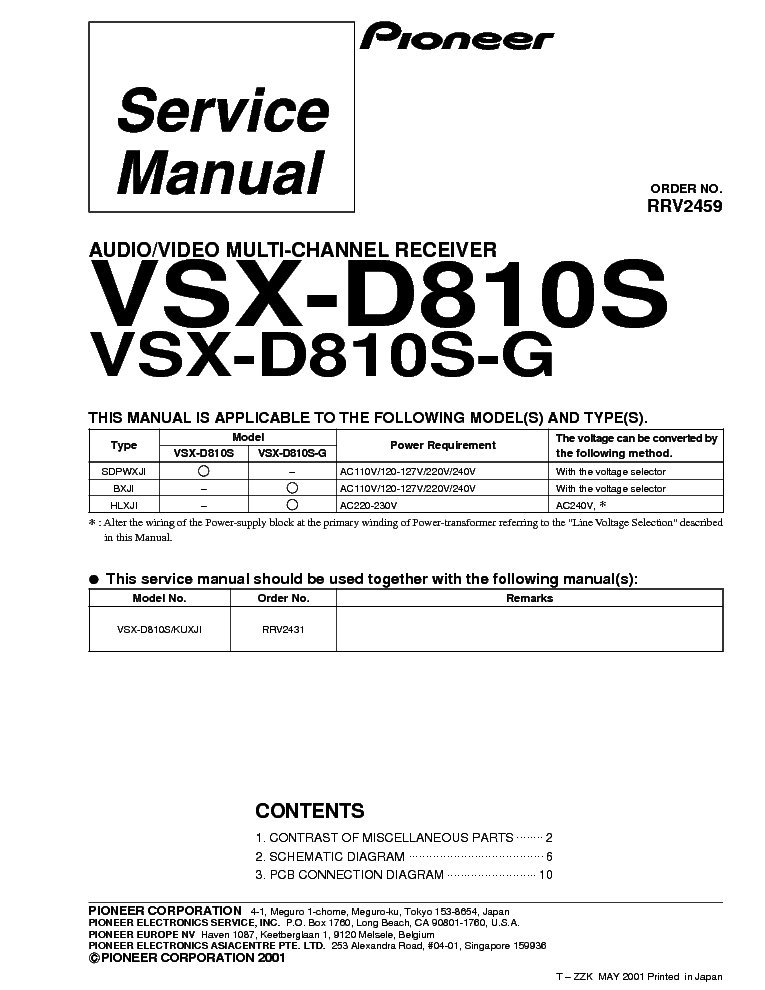 pioneer_vsx d810s g.pdf_1 pioneer vsx 305 405 service manual download, schematics, eeprom pioneer vsx 305 wiring diagram at bayanpartner.co