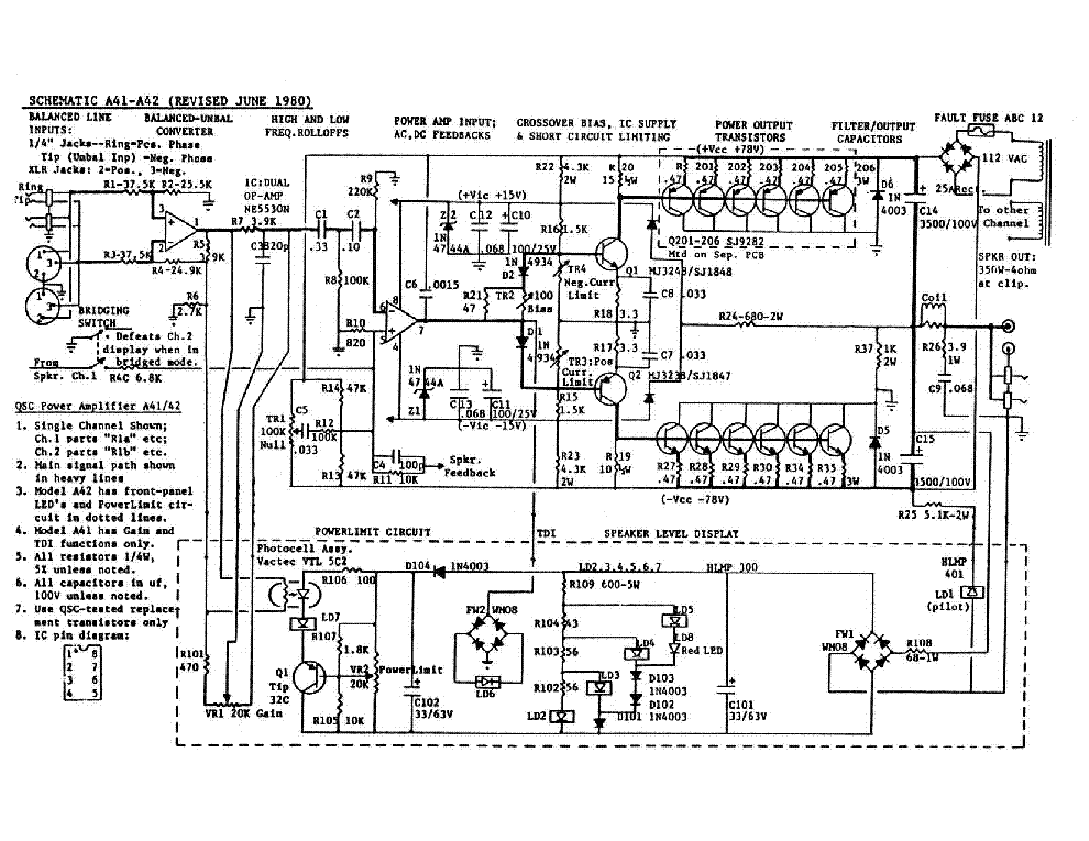 qsc gx5 schematic