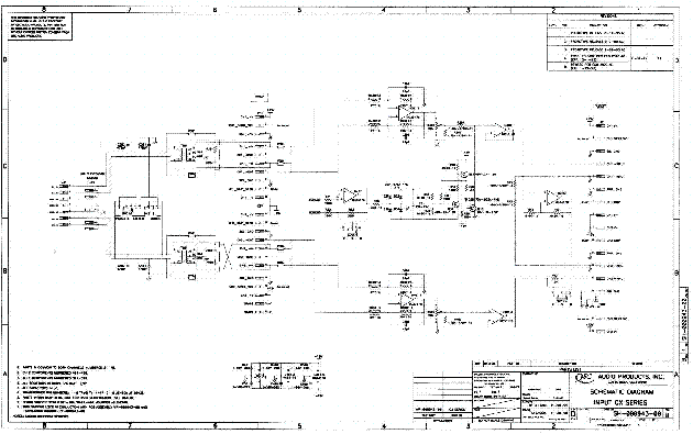 qsc_cx6_sch.pdf_1 Qsc Plx Schematic Diagram on isa 300ti, pl340 power supply, gx 3 amplifier, k-12 ksub, 1400 power amp, k10 speaker, usa 900 amplifier,