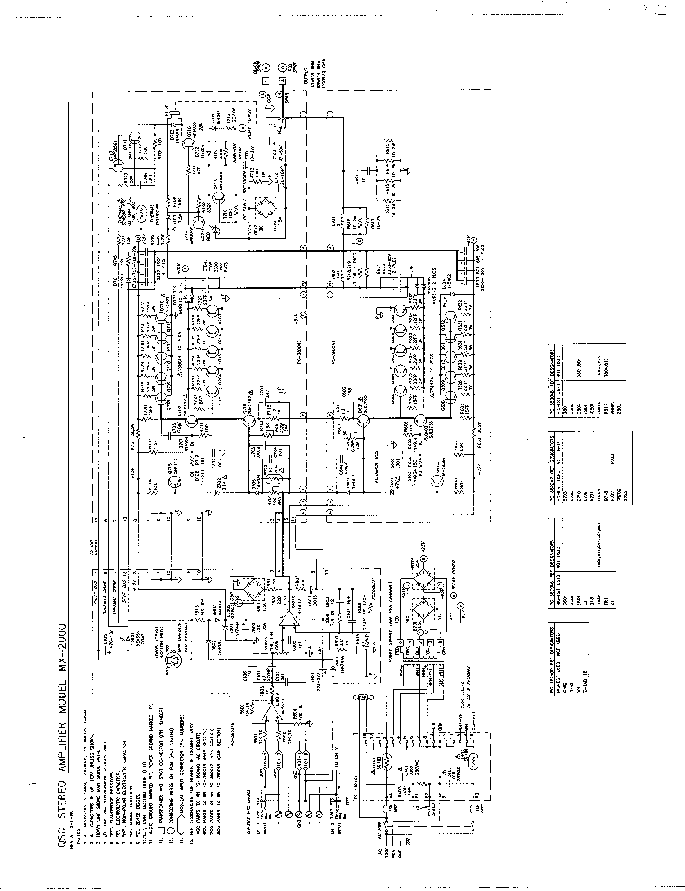 qsc_mx2000_sch.pdf_1 Qsc Plx Schematic Diagram on isa 300ti, pl340 power supply, gx 3 amplifier, k-12 ksub, 1400 power amp, k10 speaker, usa 900 amplifier,
