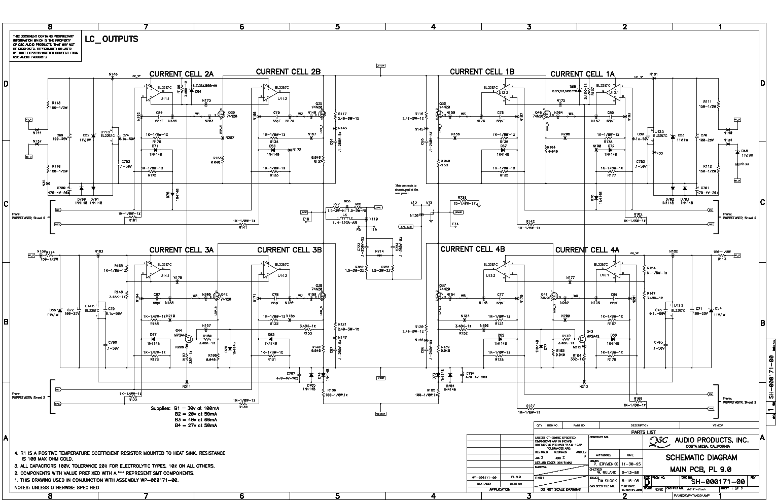 Qsc Hpr153i Service Manual Download  Schematics  Eeprom  Repair Info For Electronics Experts