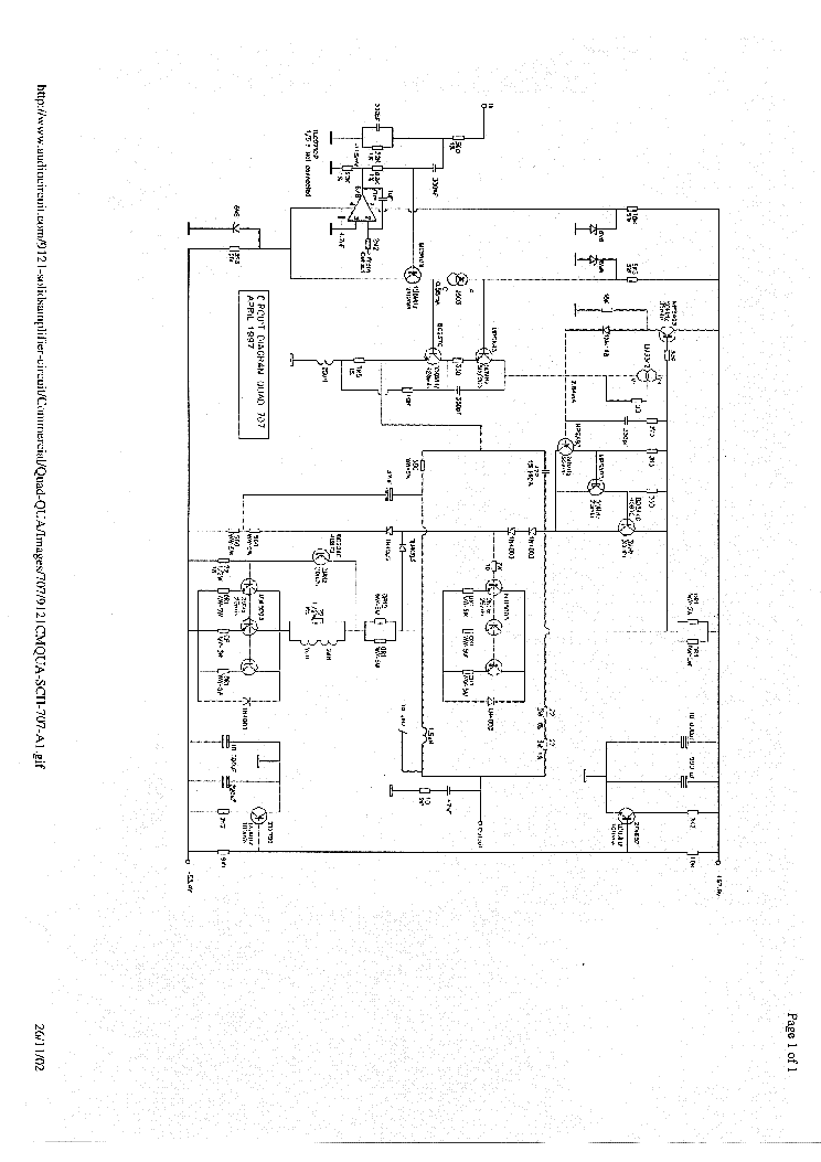 Quad 707 Pwr Sch Service Manual Download Schematics Eeprom Repair