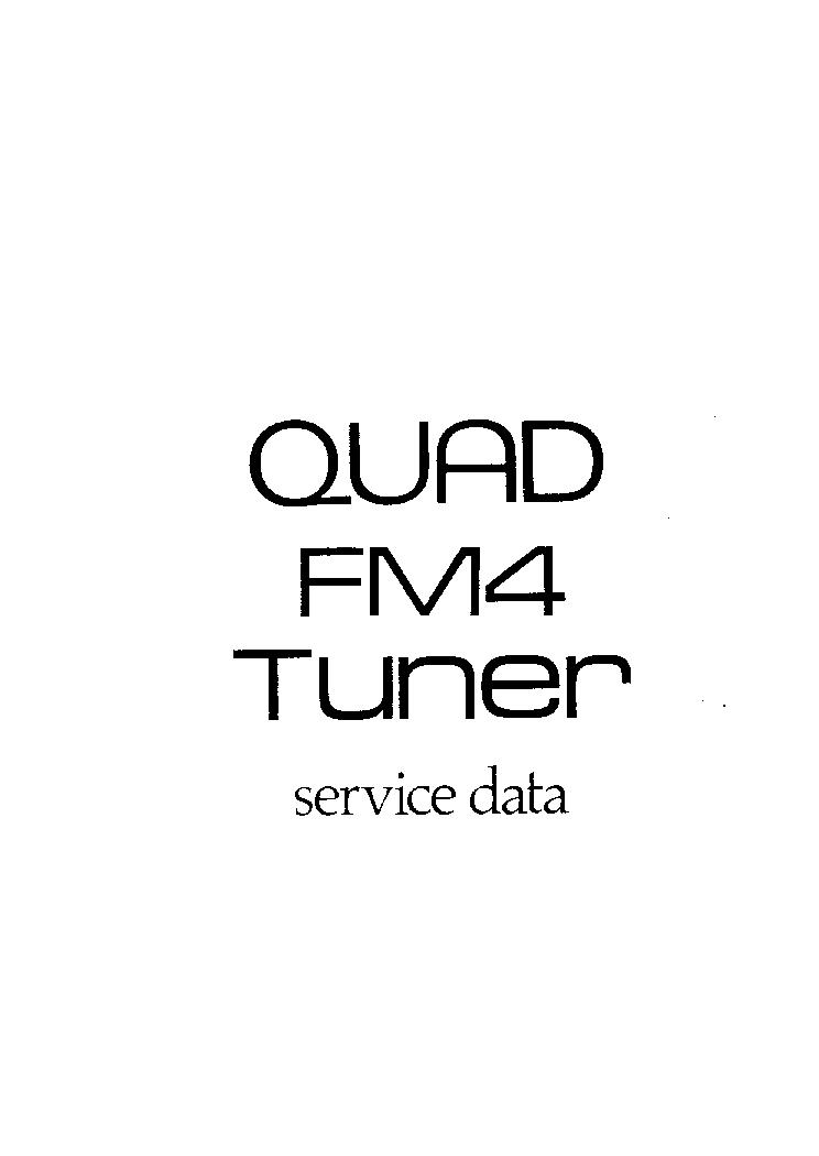quad fm4 sm service manual download  schematics  eeprom