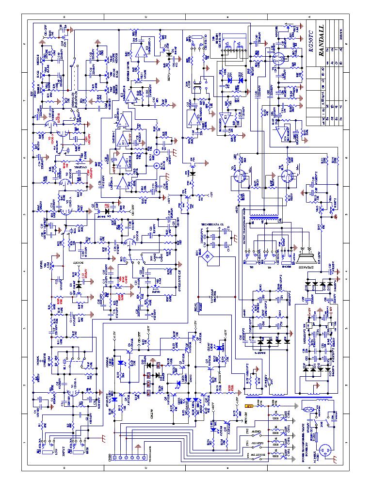 Randall Rg50tc Sch Service Manual Download  Schematics
