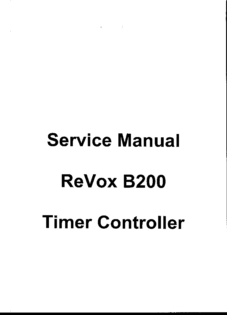 revox a