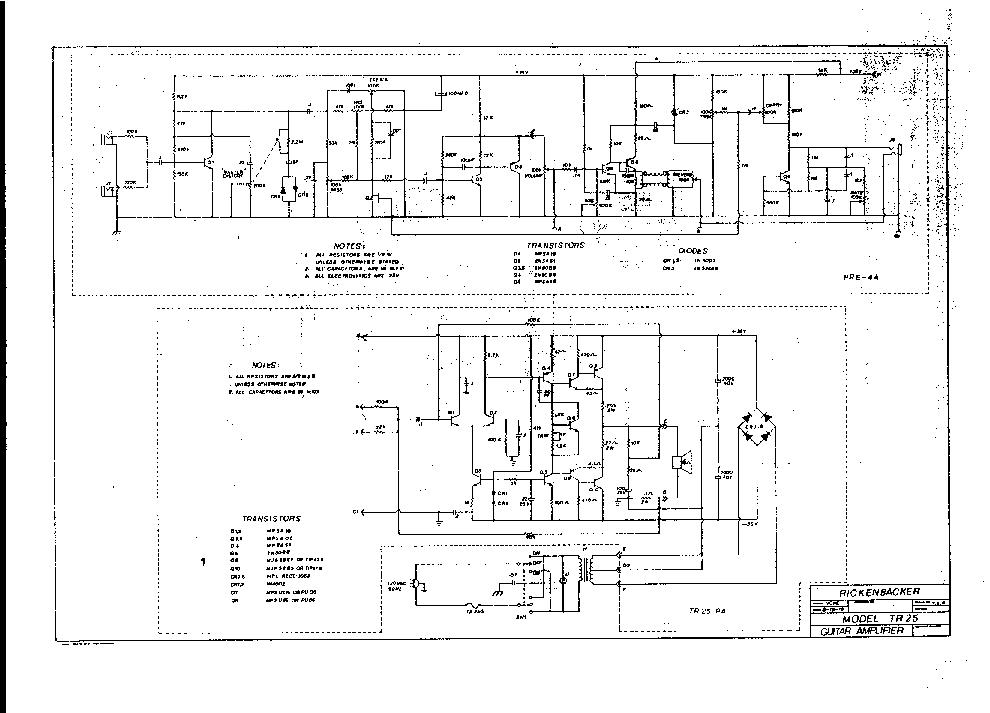 rickenbacker amp schematic