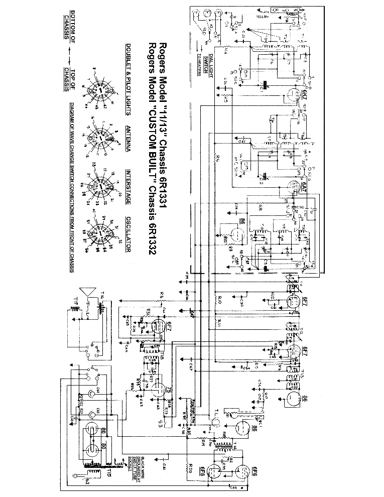 Rogers organ Manual pdf