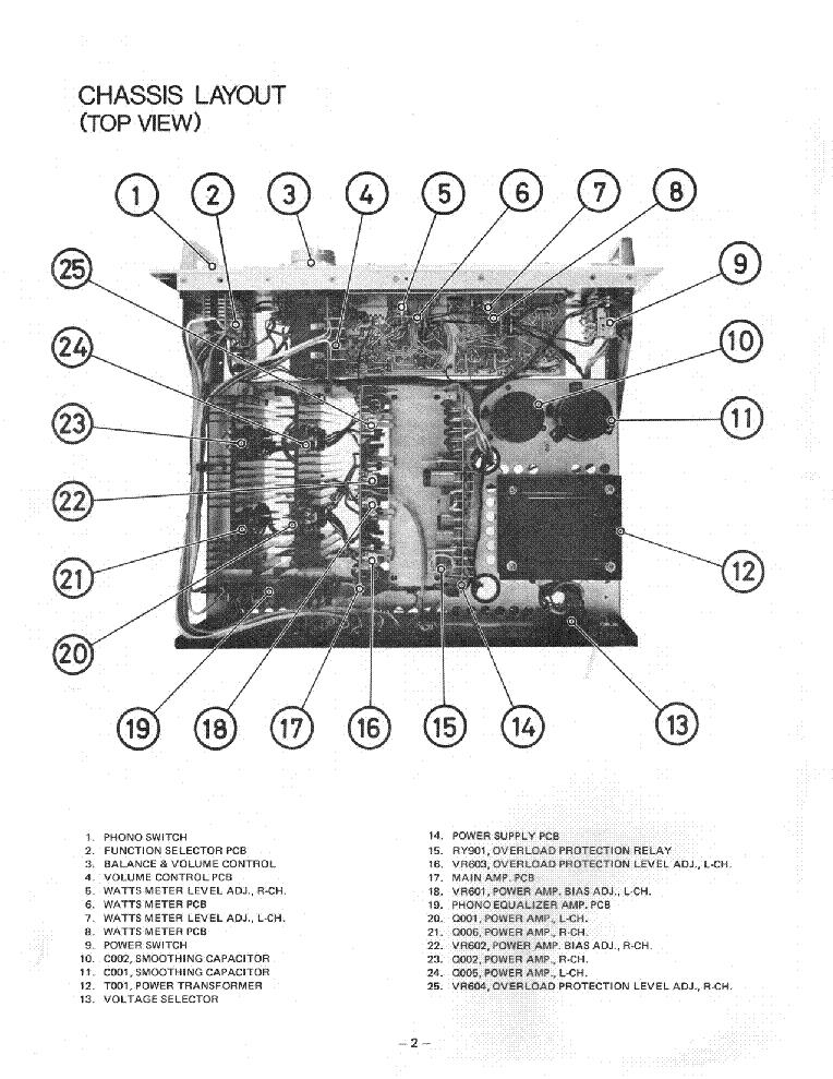 ROTEL RA-1312 SM Service Manual download, schematics, eeprom