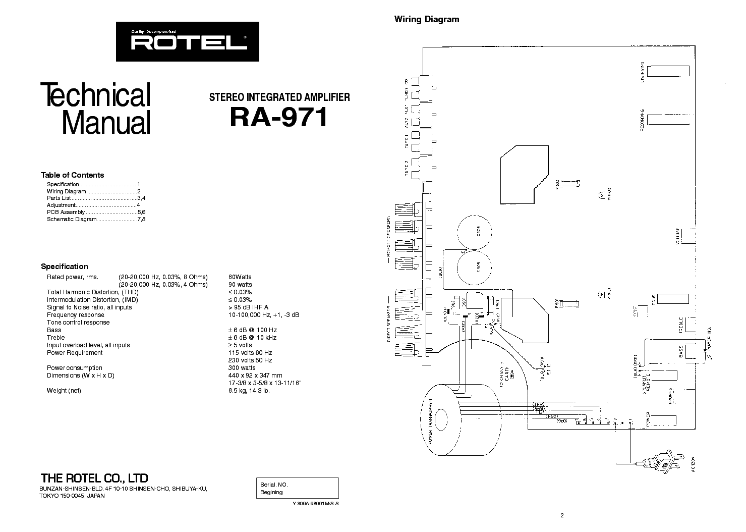 rotel_ra 971_sm.pdf_1 rotel ra 971 sm service manual download, schematics, eeprom read wiring diagrams at fashall.co