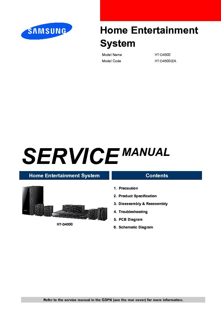 samsung ht twp32 service manual repair guide