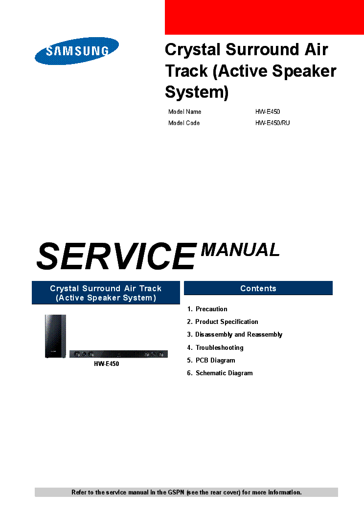 samsung hw e450 sm service manual download schematics eeprom rh elektrotanya com samsung hw-e450 troubleshooting samsung hw c450 manual