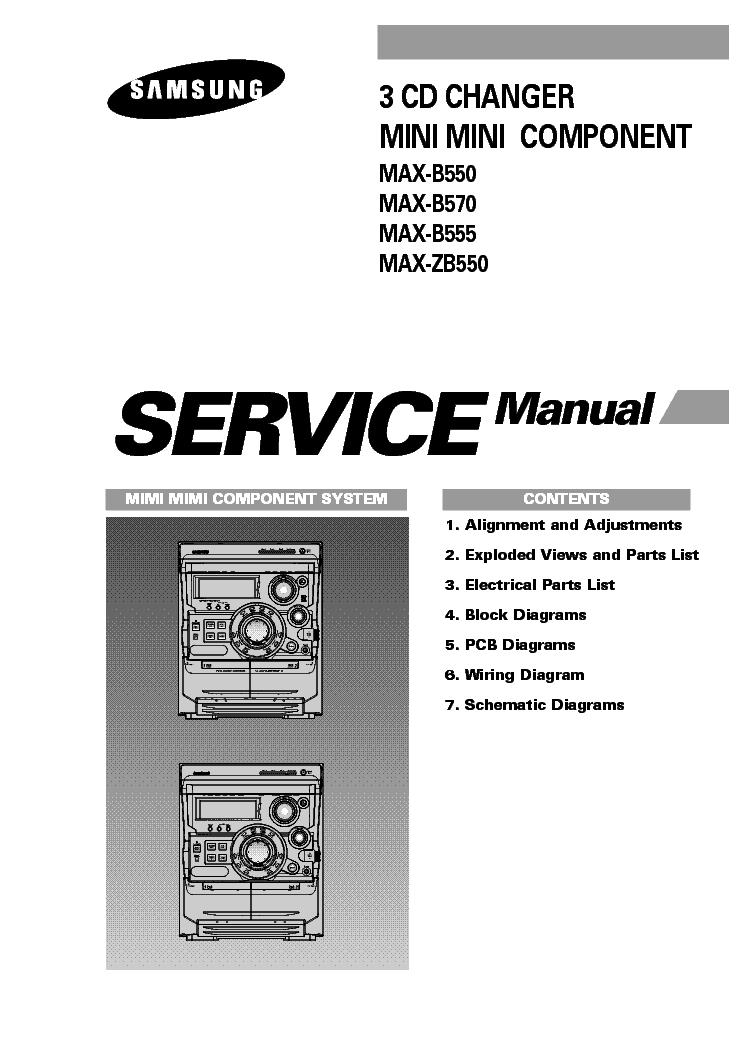 SAMSUNG MAX-B550,