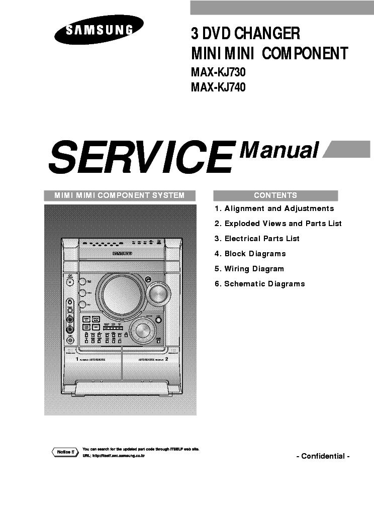 SAMSUNG MAX-KJ730 KJ740 SM