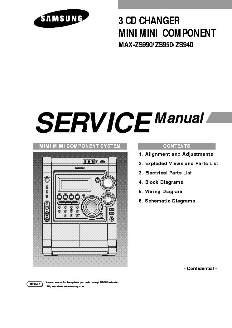 SAMSUNG MAX-ZS990 ZS950 ZS940