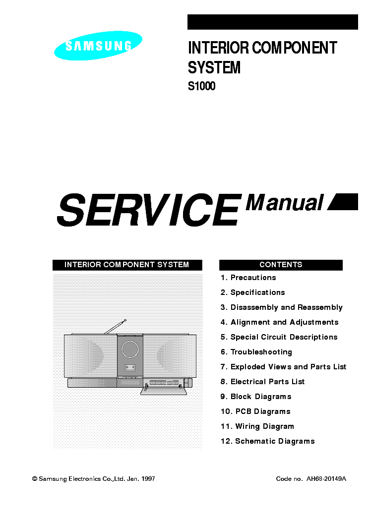 samsung da e750 en service manual download schematics eeprom repair info for electronics experts. Black Bedroom Furniture Sets. Home Design Ideas