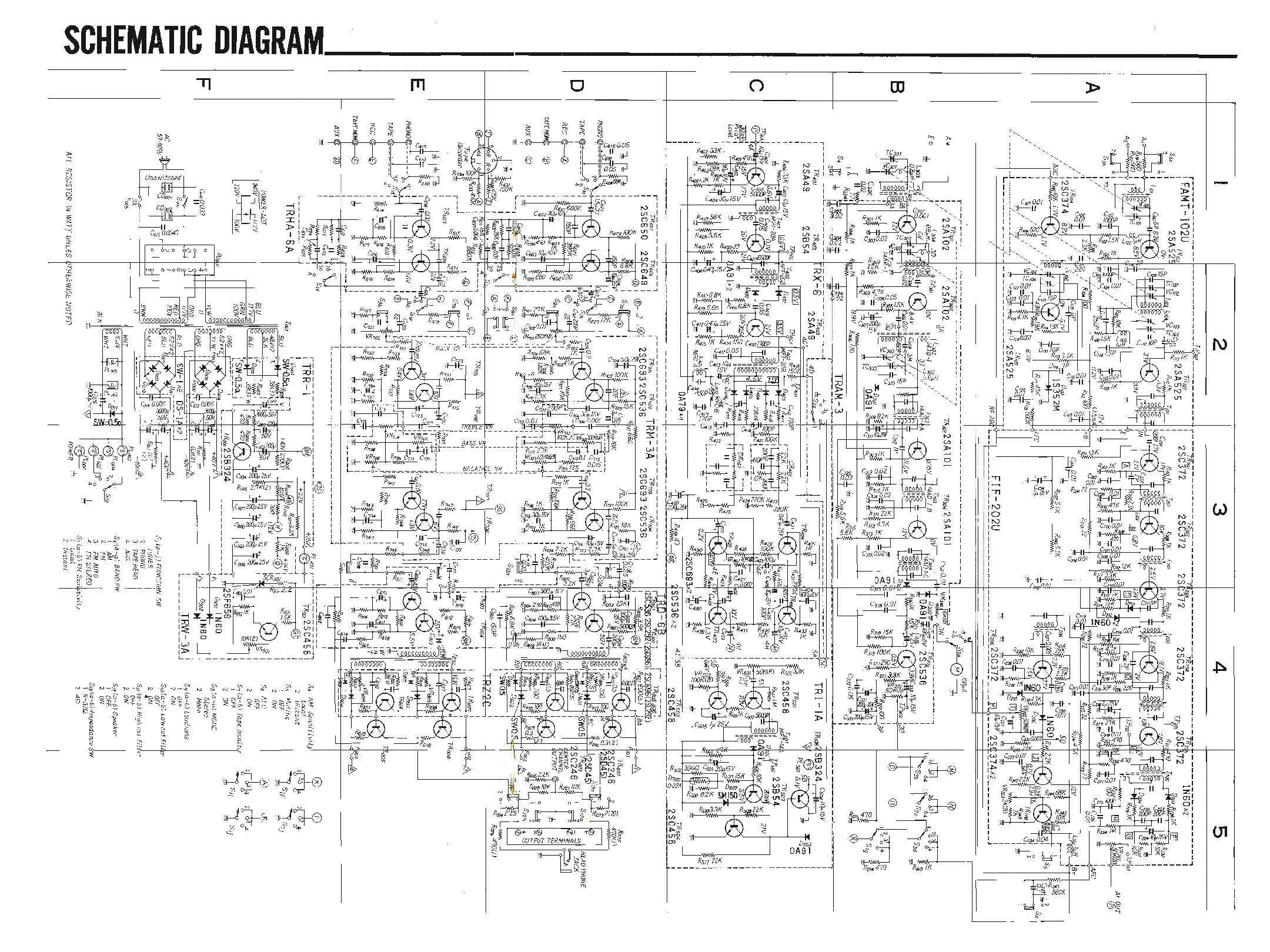 sansui 3000 sch service manual download  schematics