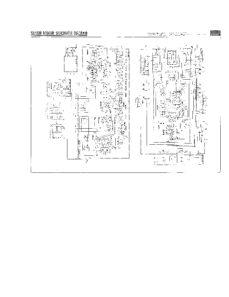 SANSUI 9090DB SCH service manual