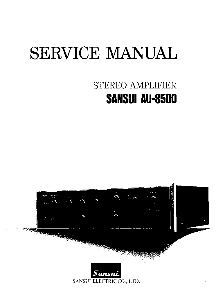 sansui au 8500 service manual download schematics eeprom repair rh elektrotanya com