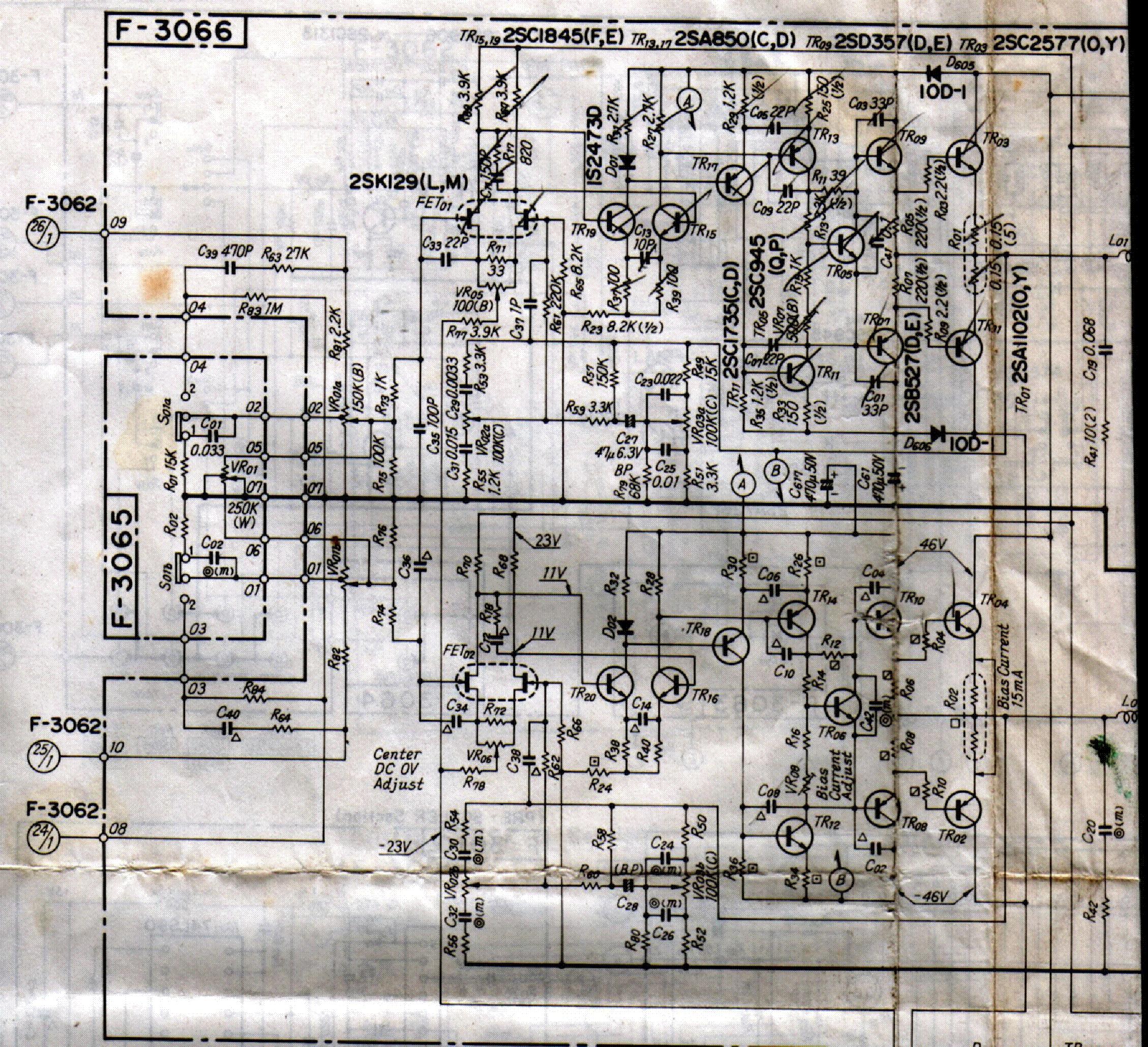SANSUI G-4700-POWER-AMP-SCHEMATIC. Service Manual download ...