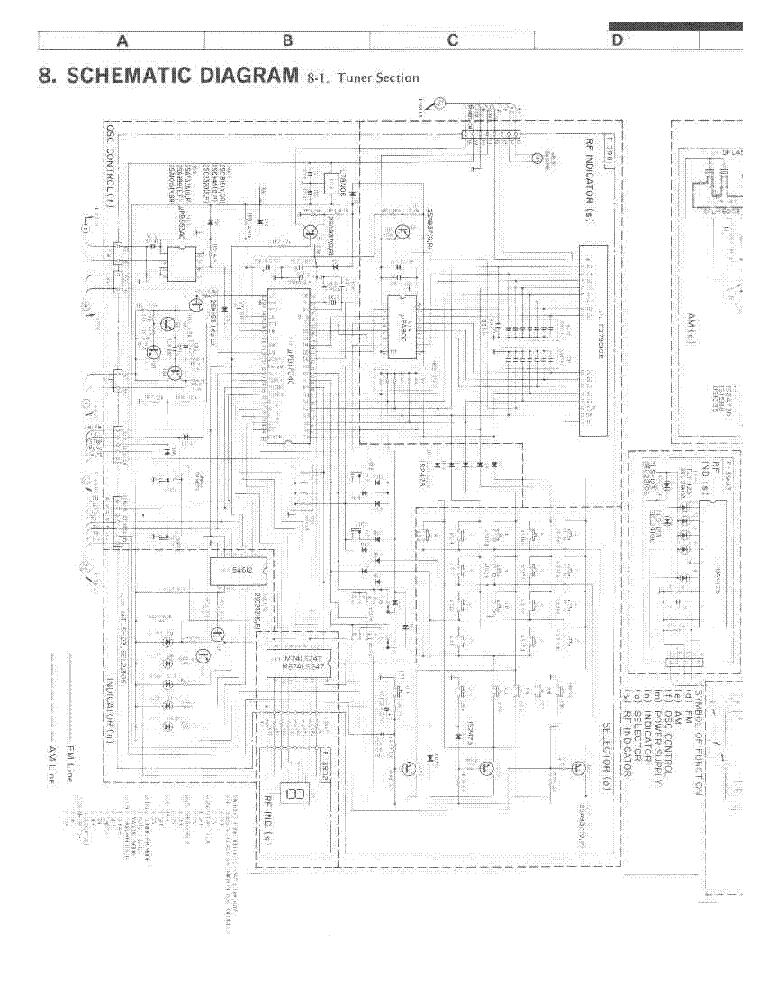 Sansui Tu 317 Sm Service Manual Download Schematics Eeprom Repair