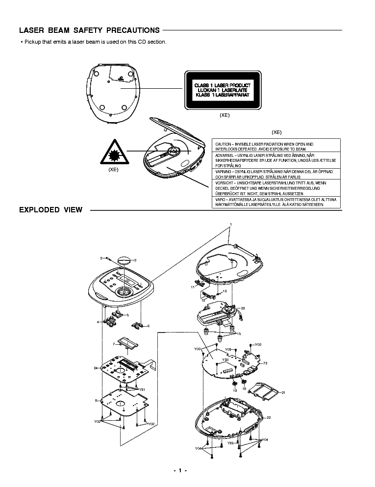 SANYO CDP-M300 Service Manual download, schematics, eeprom, repair on line diagram, network diagram, critical mass diagram, block diagram, carm diagram, schema diagram, flow diagram, circuit diagram, concept diagram, exploded view diagram, wiring diagram, isometric diagram, process diagram, yed graph diagram, electric current diagram, sequence diagram, problem solving diagram, system diagram, cutaway diagram,