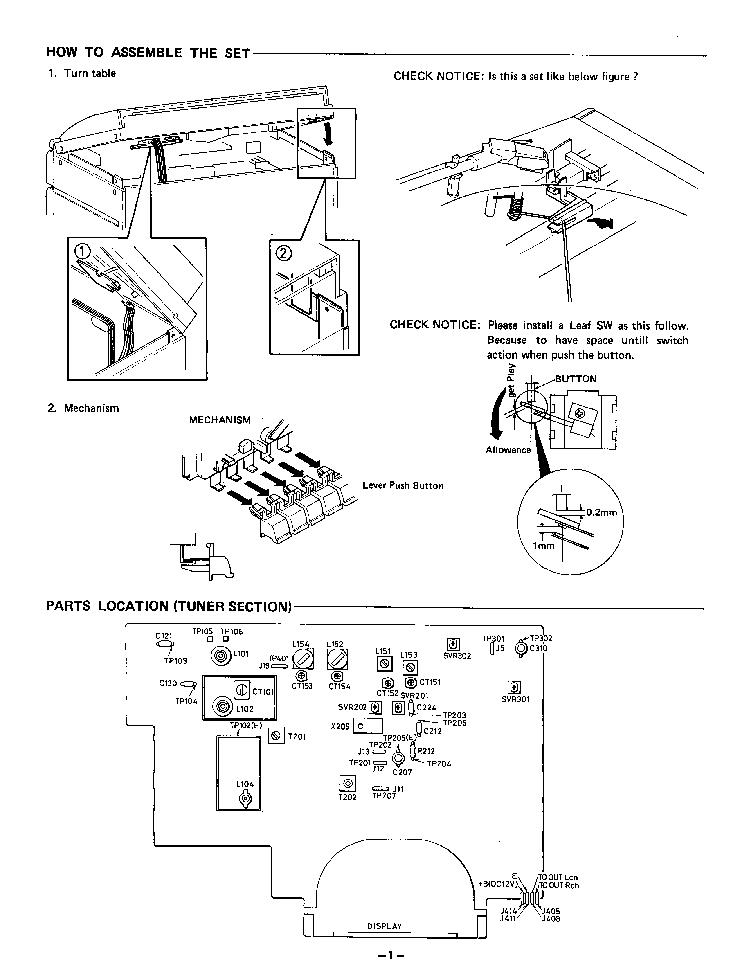 Sanyo Dcx49 Service Manual Download Schematics Eeprom Repair Info