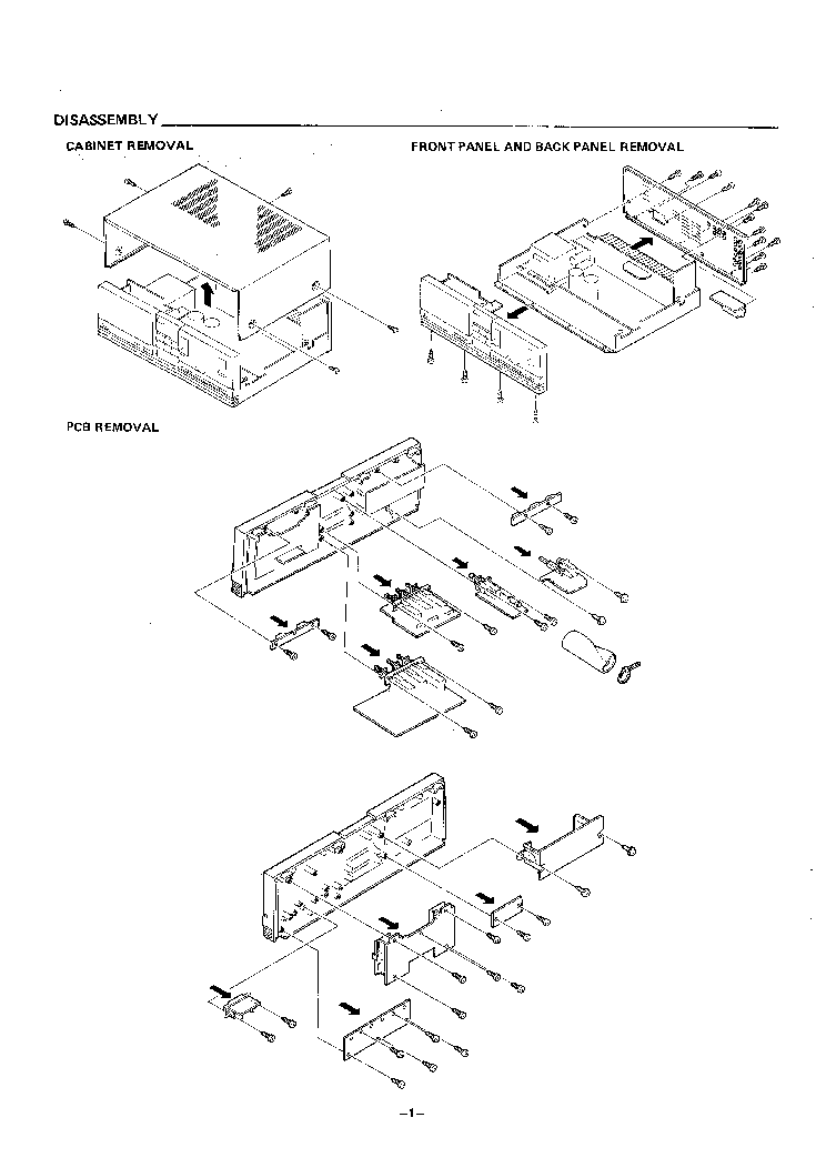 Sanyo Ja 6155 Sm Service Manual Download Schematics Eeprom Repair