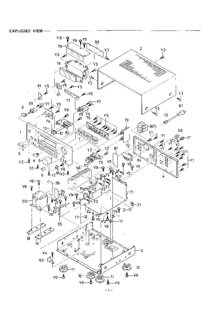 Sanyo Ja 8300 Service Manual Download Schematics Eeprom Repair