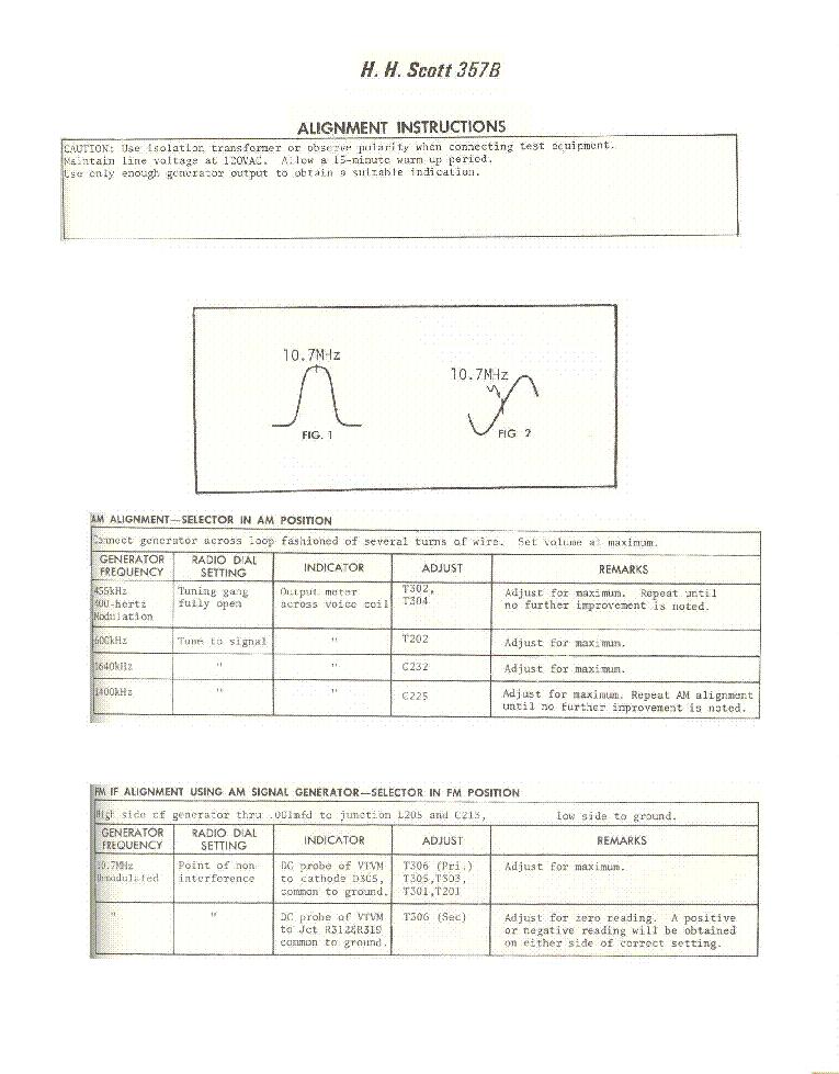 Scott 357b Sch Service Manual Download  Schematics  Eeprom