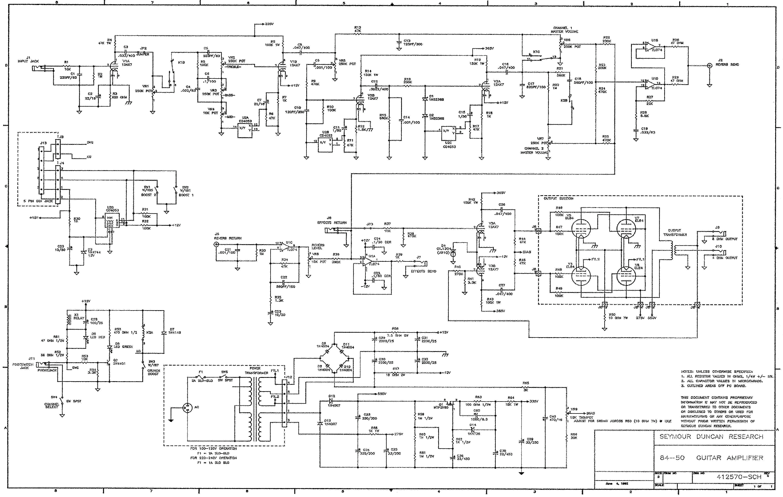 Seymour Duncan Convertible 60 Schematics Wire Data Schema Les Paul Wiring 60w Combo Preamp 1986 Sch Coil Tap Diagram Pickup