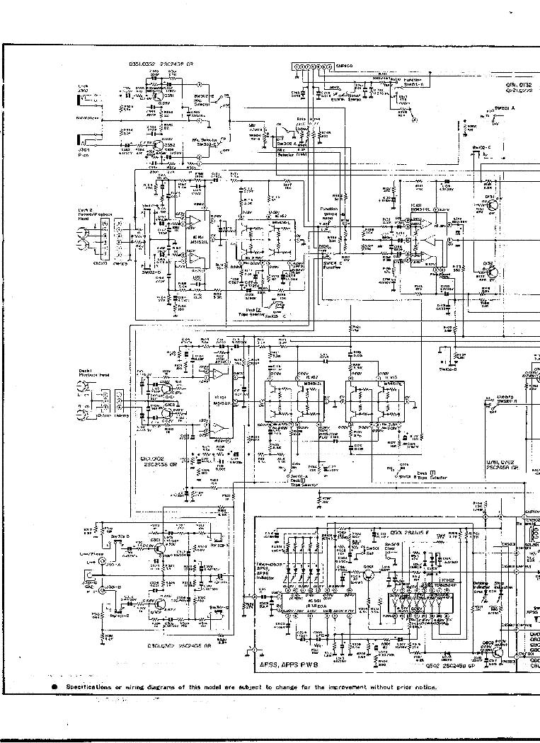 SHARP GF-700 SCH service manual (1st page)