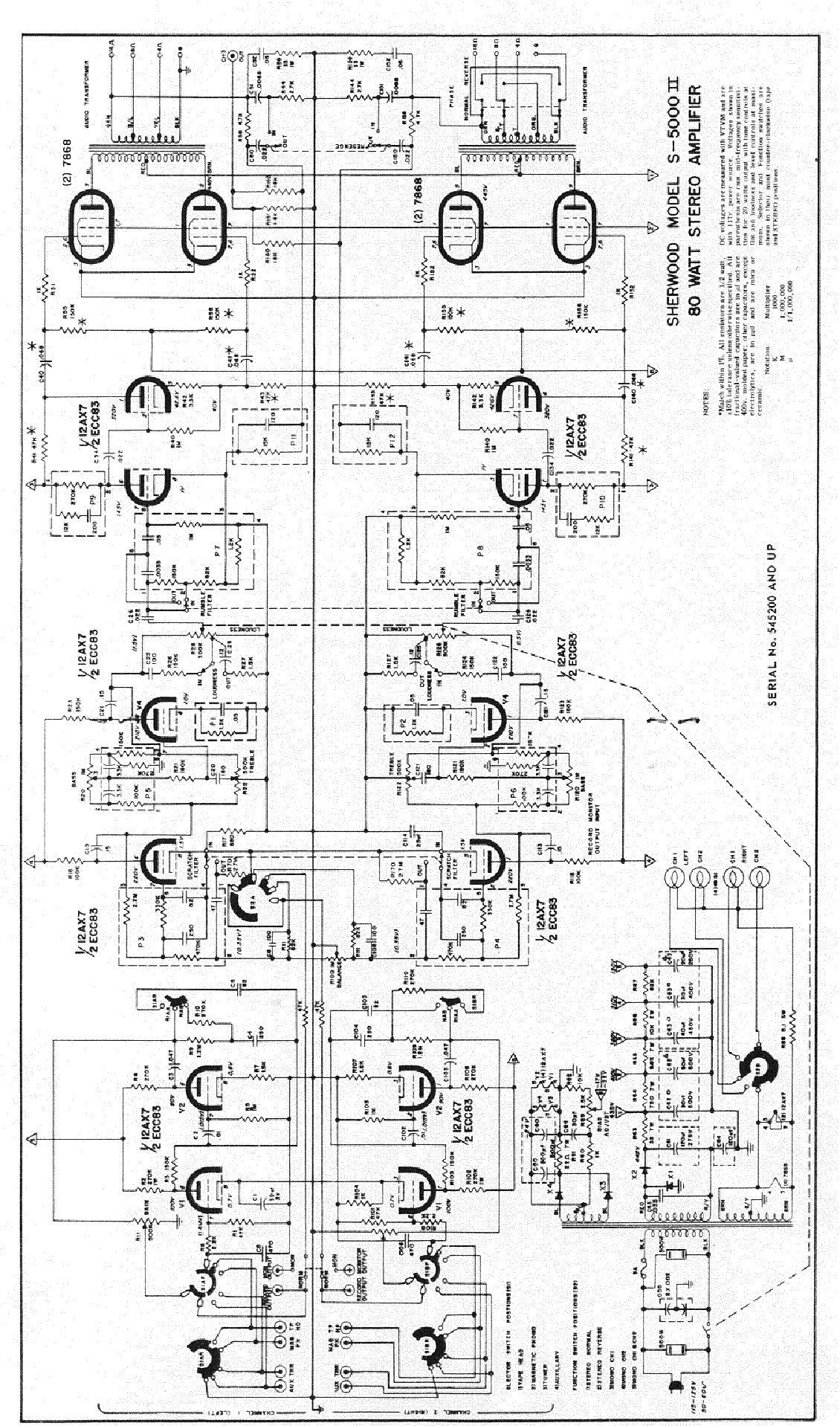 sherwood wiring diagram