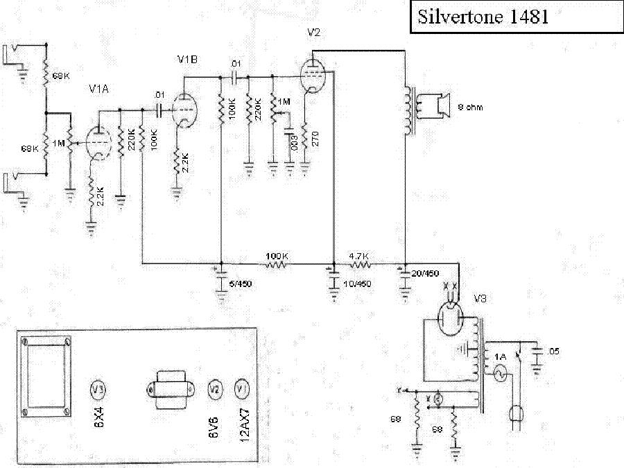 silvertone 1481 service manual download  schematics