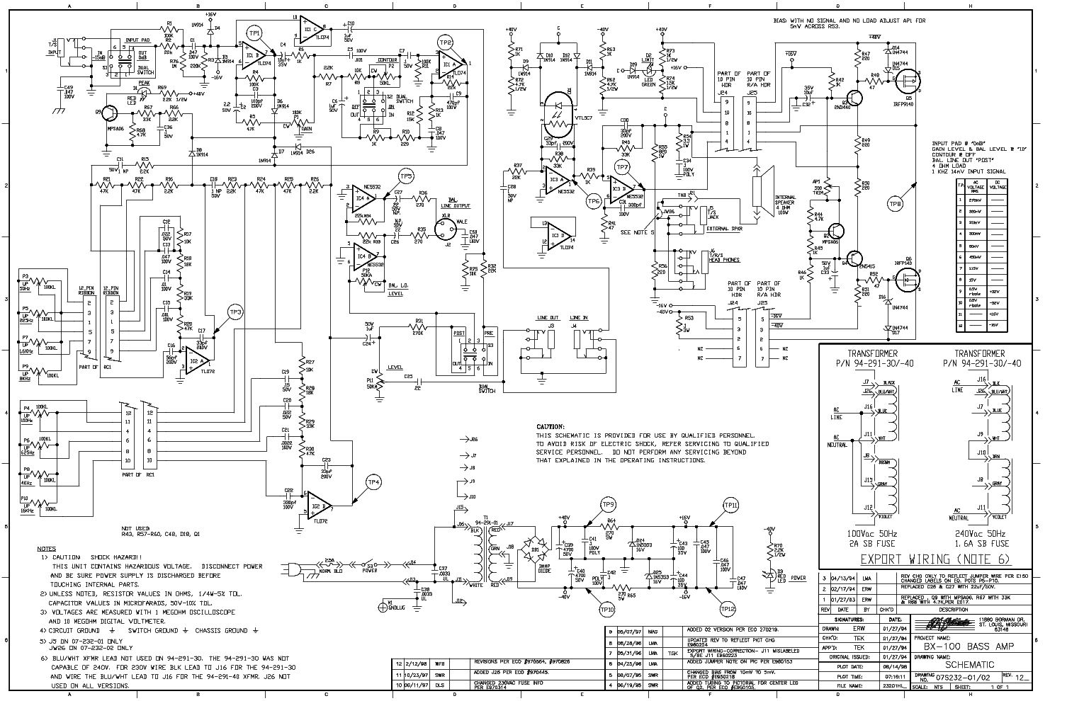 Crate Bass Guitar Wiring Schematics Diagrams Amp Diagram Rfx65 Best Site Harness Grounding To Pots P