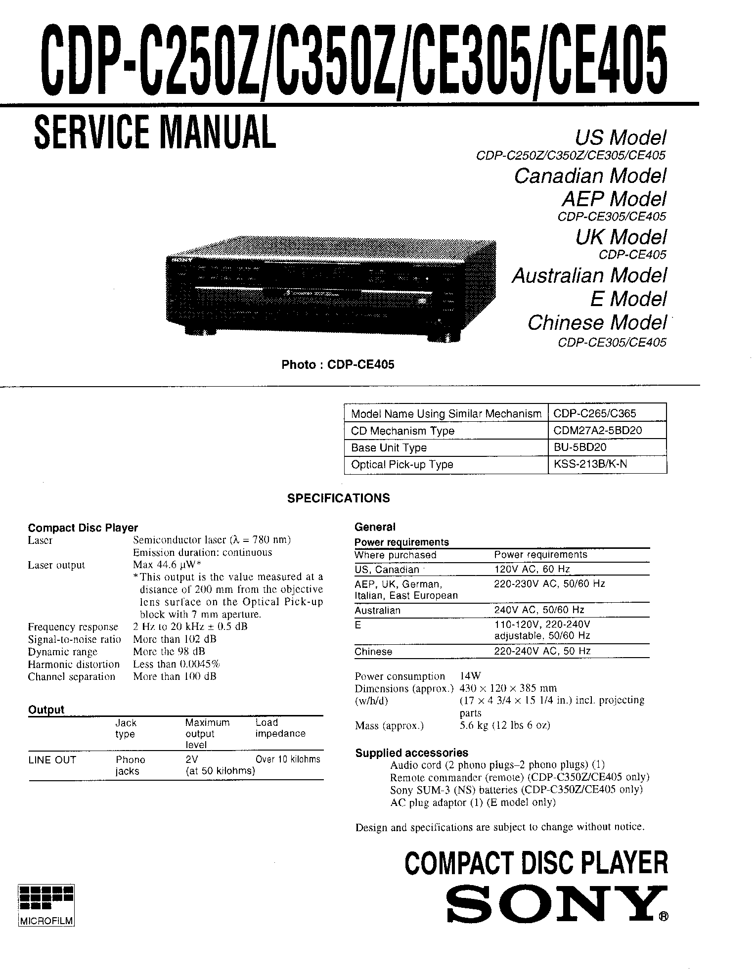 sony cfd g35 service manual schematics eeprom sony