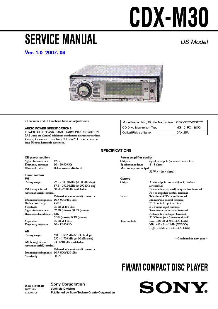 sony cdx gt640ui wiring diagram wiring diagram and schematic design sony cdx gt640ui wiring diagrams electrical
