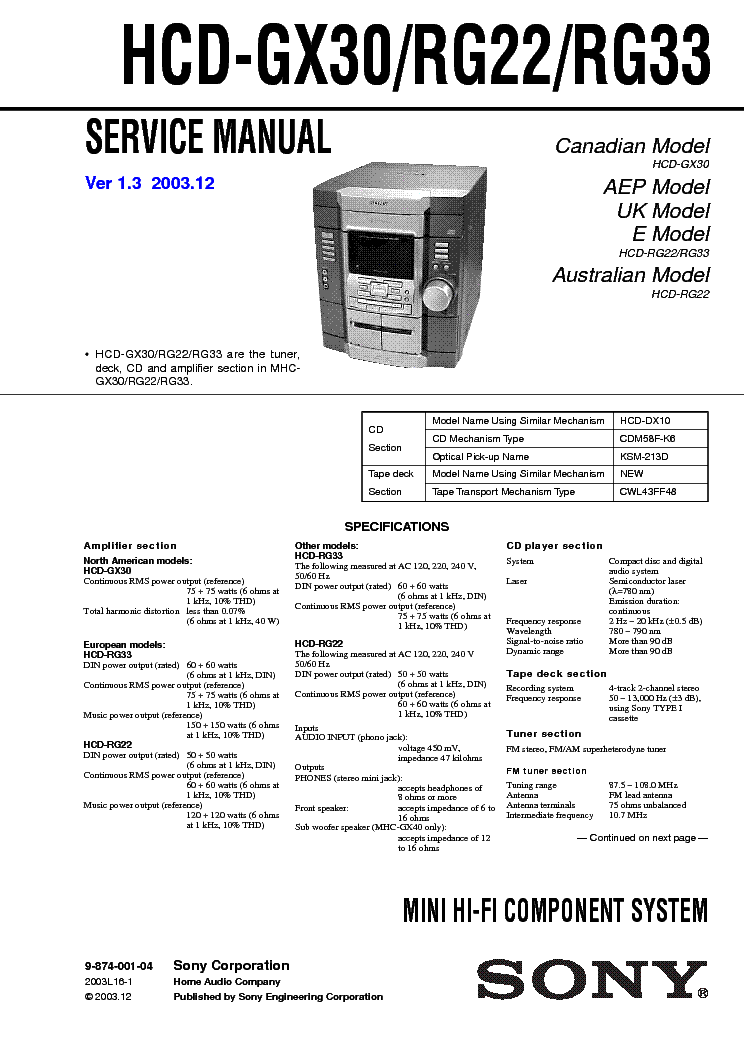 sony str de225 pdf