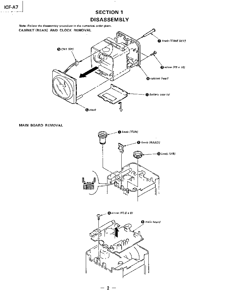 Sony Disc Player Manual