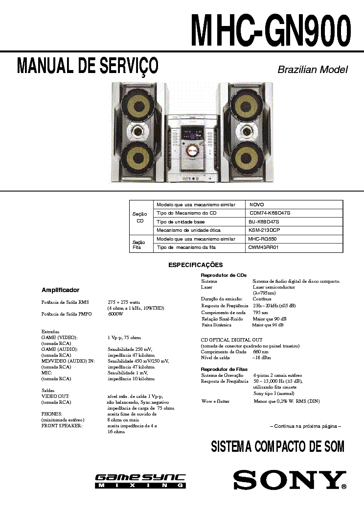 Sony Cfd