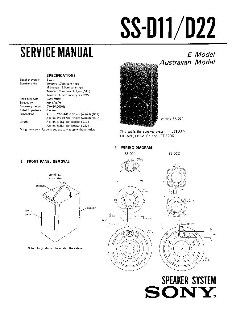 D22 Workshop Manual Ebook Block Diagram Okifax50505300 Array Sony Ss D11 Service Download Schematics Eeprom Rh Elektrotanya Com