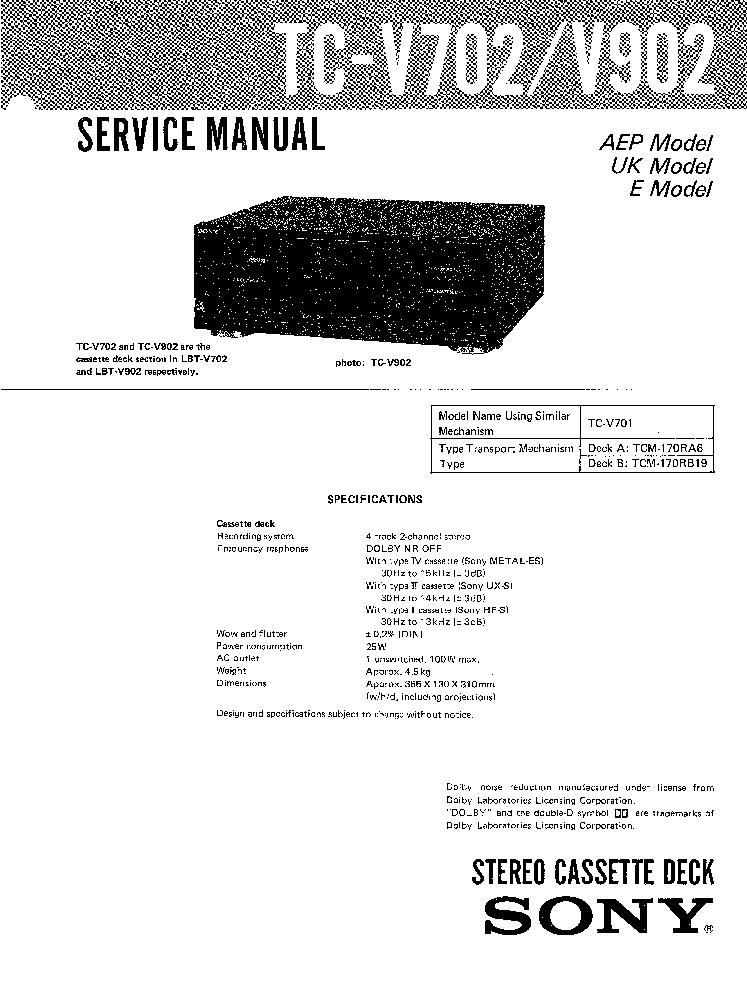 manual sony lbt v701