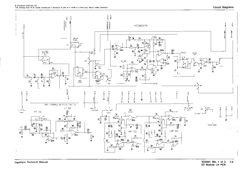Soundcraft Spirit M4 Service Manual Schematic