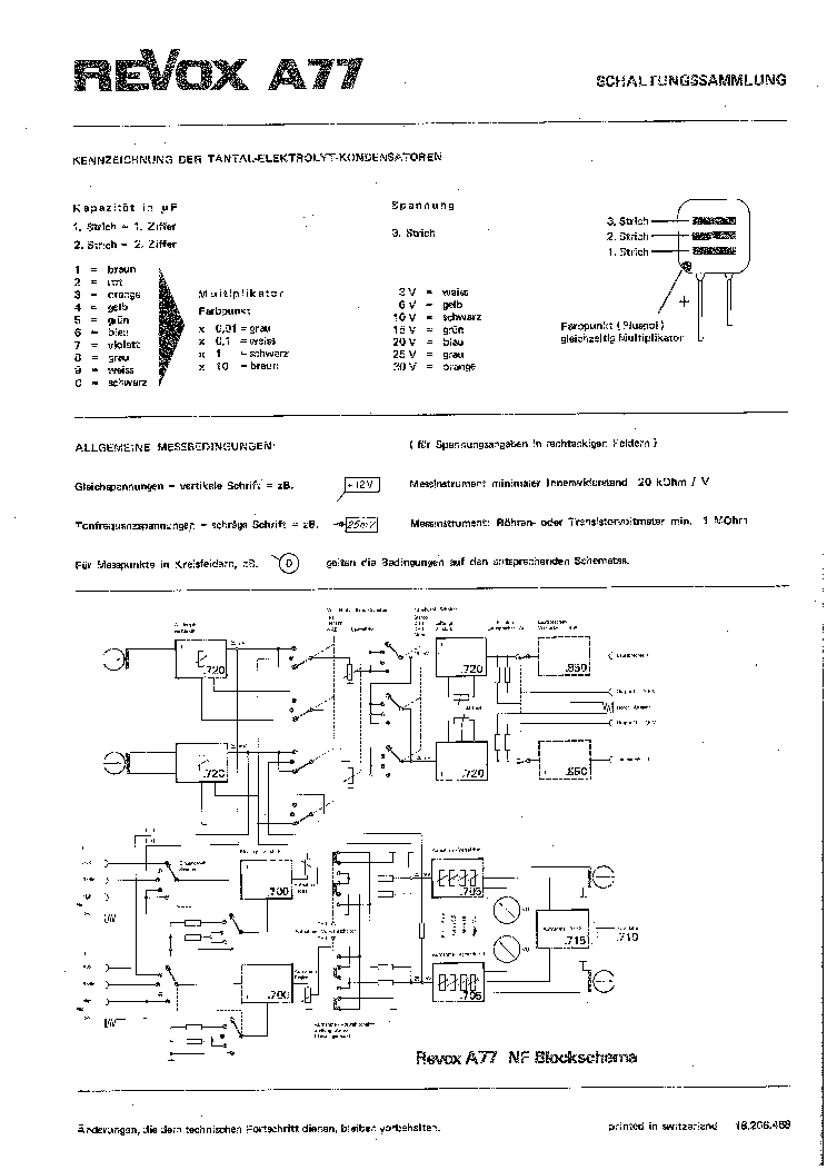 Studer Revox A77 Sch 68