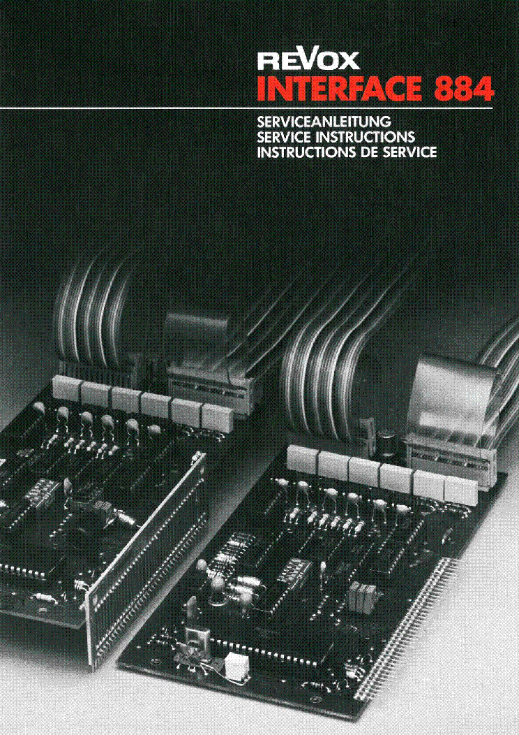 STUDER REVOX A807-MK1 SM Service Manual download, schematics, eeprom