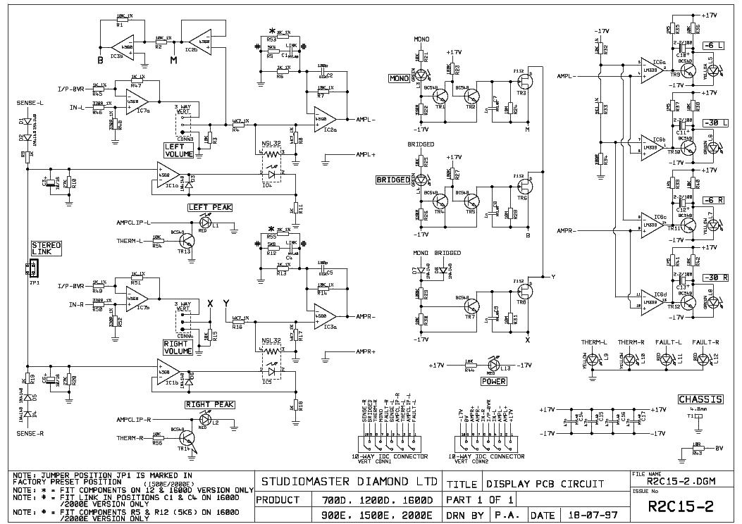 Studiomaster Amp1500 Sch Service Manual Download