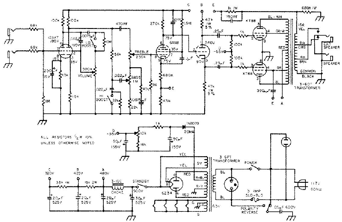 sunn 200s sch service manual download  schematics  eeprom