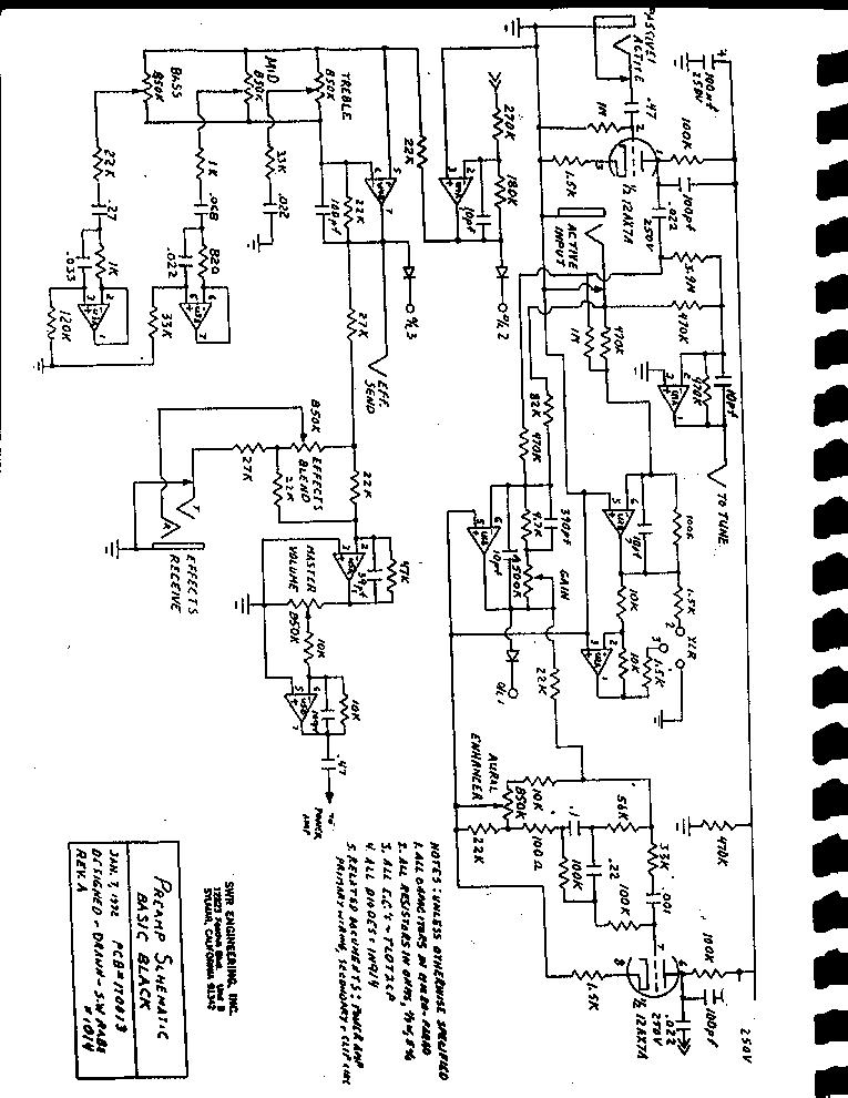 swr amp schematic