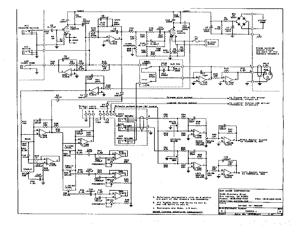 Swr Amp Schematics